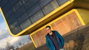 Der alte Expo-Pavillon von Litauen