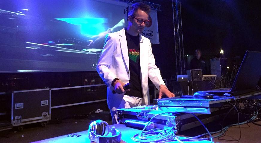 DJ Martin Reißmann zum Stadtfest in Plauen