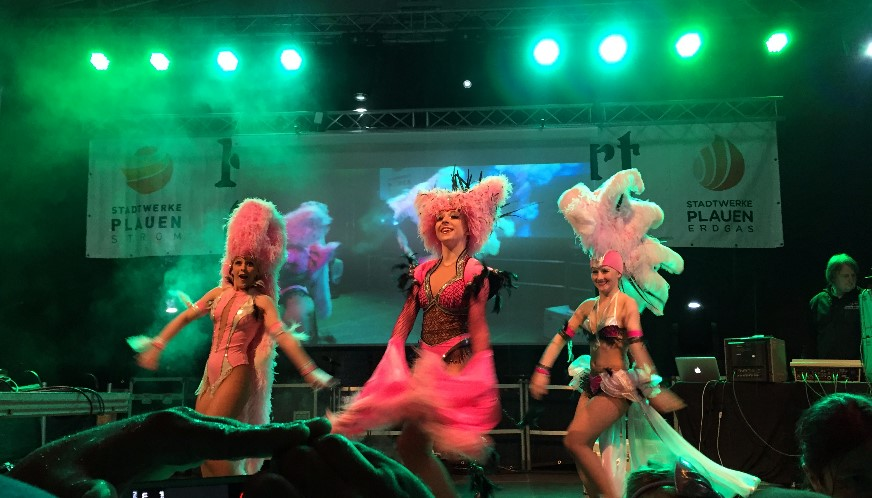 "Tanzshow des Tanzprojekts ""Keen on Rhythm"""