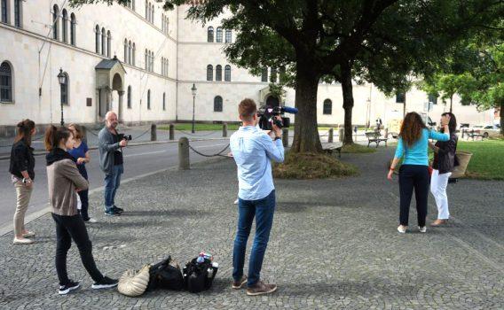 Dreh in München bei Véronique Witzigmann