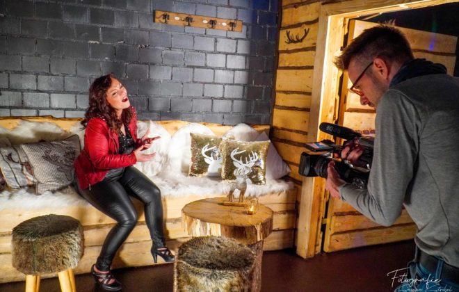 Videodreh mit Johanna Foto: Sascha Strobel Fotografie